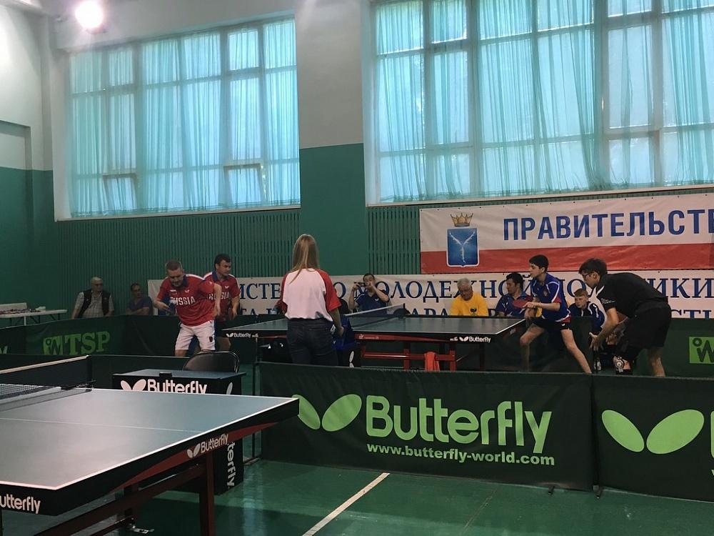 В Великом Новгороде проходят Всероссийские соревнования по настольному теннису спорта лиц с поражением опорно-двигательного аппарата