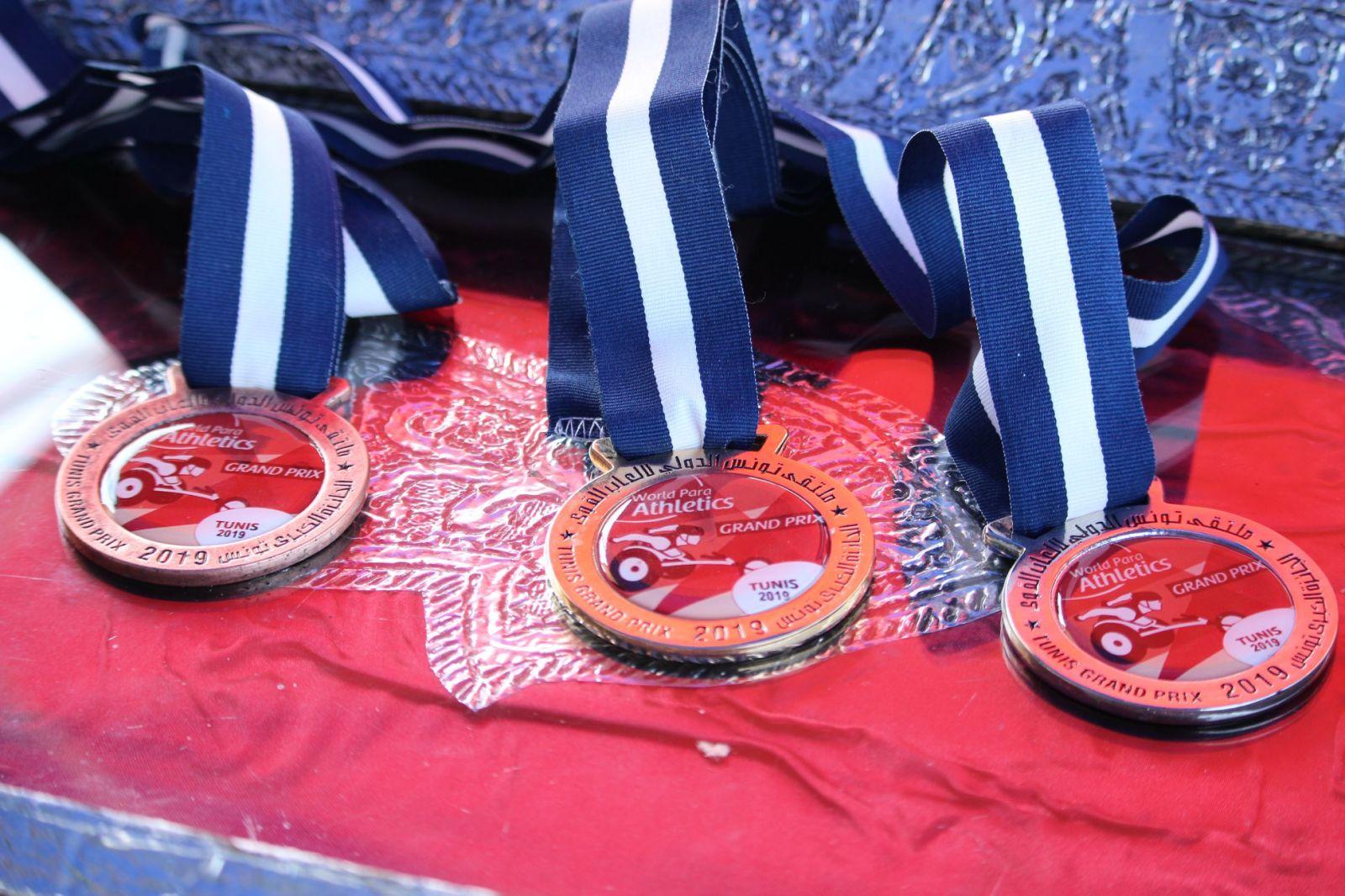 Сборная команда России по легкой атлетике спорта лиц с ПОДА завоевала 14 медалей на этапе гран-при МПК в Тунисе
