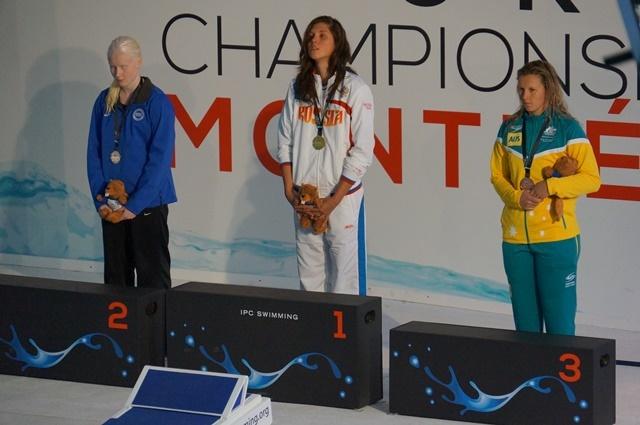 В шестой  соревновательный день чемпионата  мира по плаванию спорта лиц с поражением опорно-двигательного аппарата, нарушением зрения и интеллектуальными нарушениями российские спортсмены завоевали 5 золотых, 3 серебряных и 1 бронзовую награды