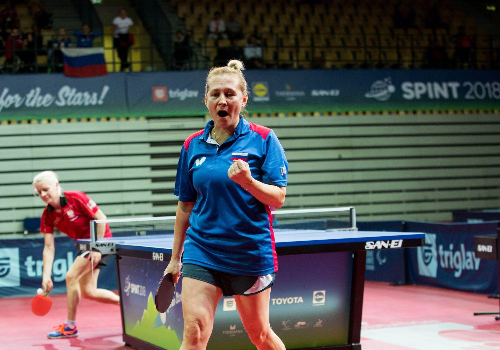 Российские спортсмены завоевали 1 золотую и 2 серебряные медали на чемпионате мира по настольному теннису спорта лиц с ПОДА и ИН в Словении