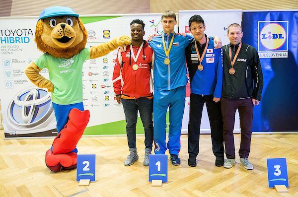 2 золотые, 4 серебряные и 8 бронзовых медалей завоевали российские спортсмены на международных соревнованиях по настольному теннису спорта лиц с ПОДА и ИН в Словении