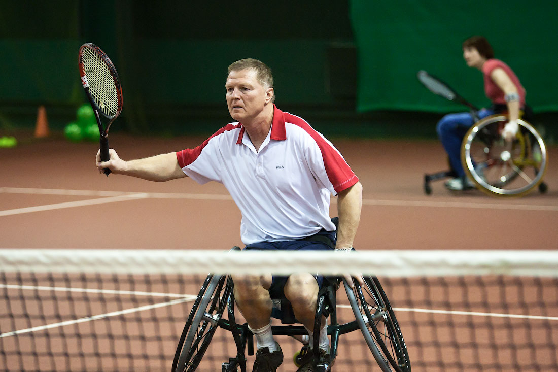 Спортсмены из пяти регионов примут участие в чемпионате России по теннису на колясках в Дмитрове