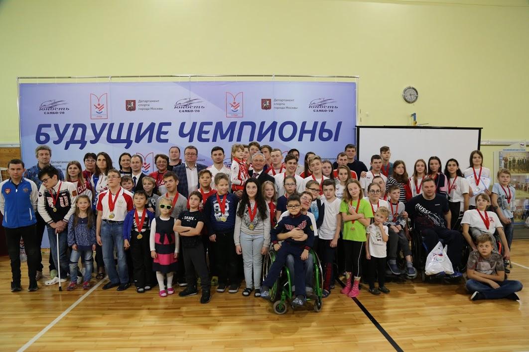 Московская Федерация спорта лиц с ПОДА при поддержке Москомспорта и ПКР провели Городские соревнования по плаванию для детей с поражением ОДА «Будущие чемпионы»