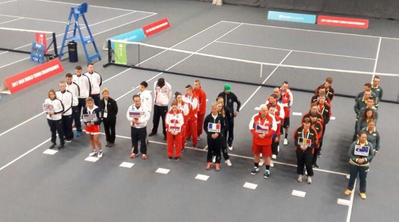 Российские теннисисты спорта ЛИН впервые выступили на чемпионате мира