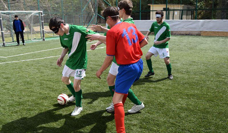 Восемь команд продолжат борьбу за награды чемпионата России по мини-футболу спорта слепых (класс В1)