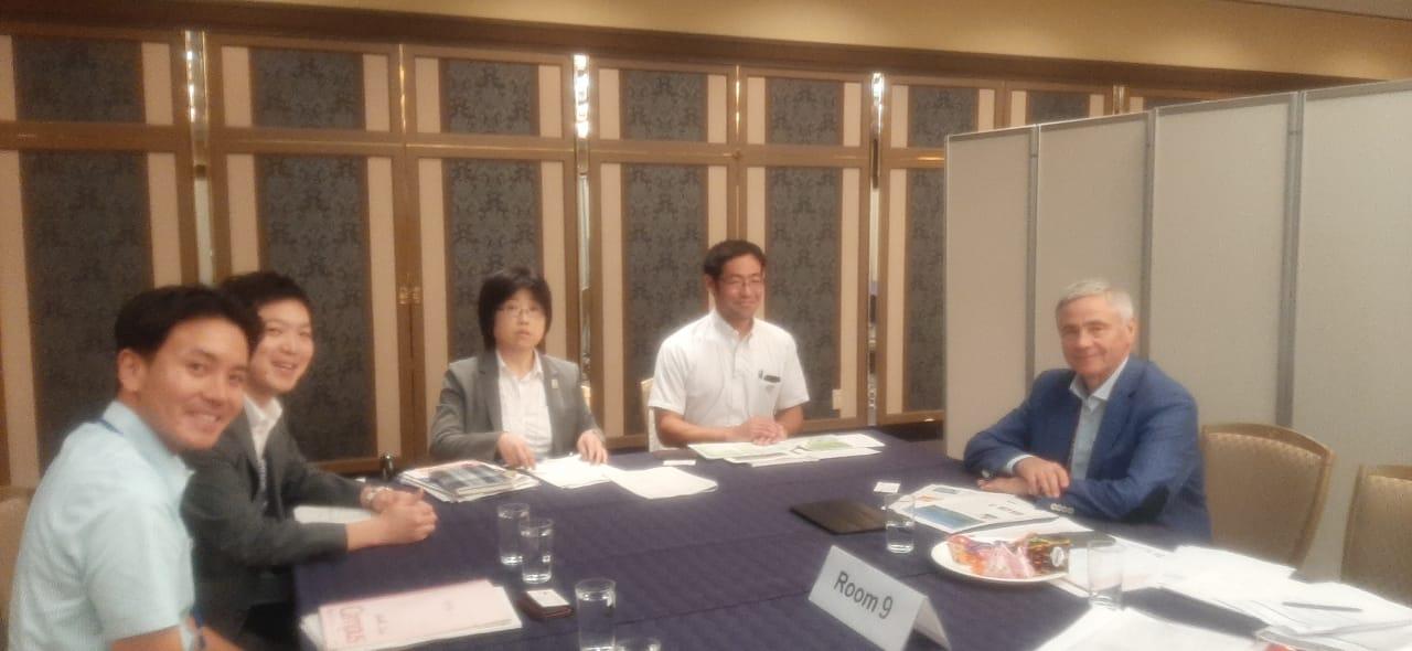 П.А. Рожков в г. Токио (Япония) встретился с представителями Кабинета министров Японии, отвечающих за подготовку Олимпийских и Паралимпийских игр 2020 года в г. Токио (Япония).