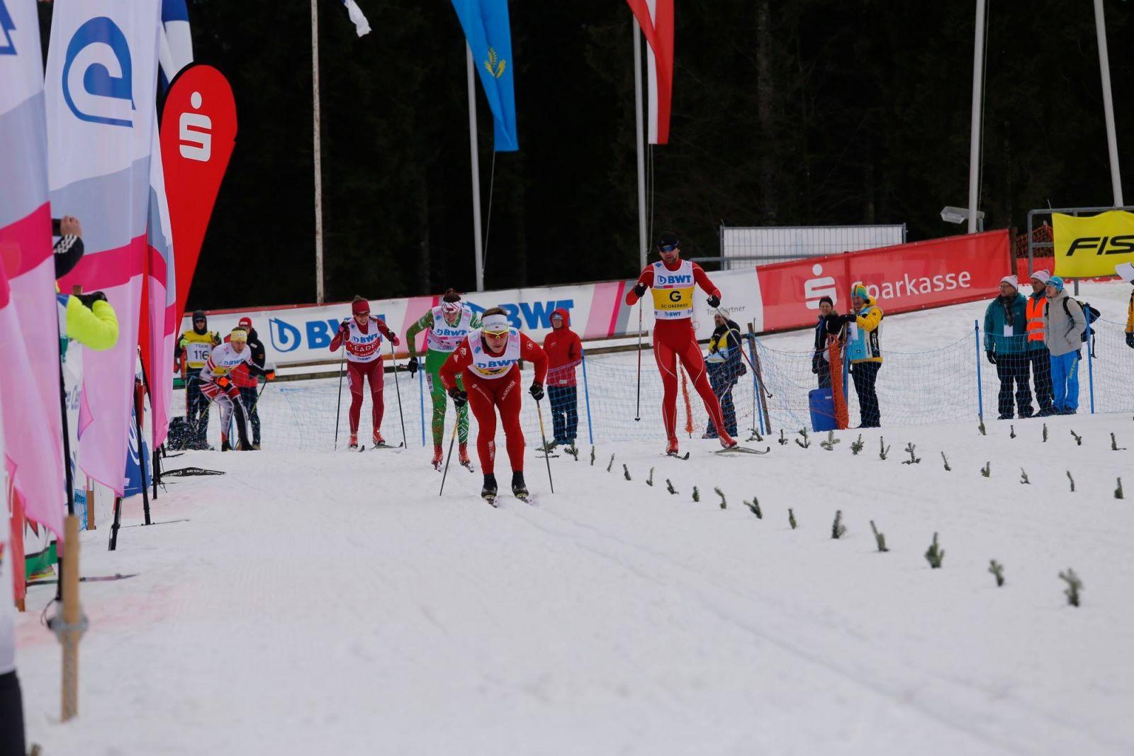 Российские спортсмены с ПОДА завоевали 14 золотых, 16 серебряных и 12 бронзовых медалей и выиграли общекомандный зачет заключительного этапа Кубка мира по лыжным гонкам и биатлону в Финляндии