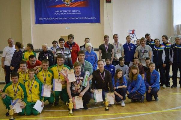 На РУТБ «ОКА» в г. Алексине (Тульская область) завершился чемпионат России по голболу