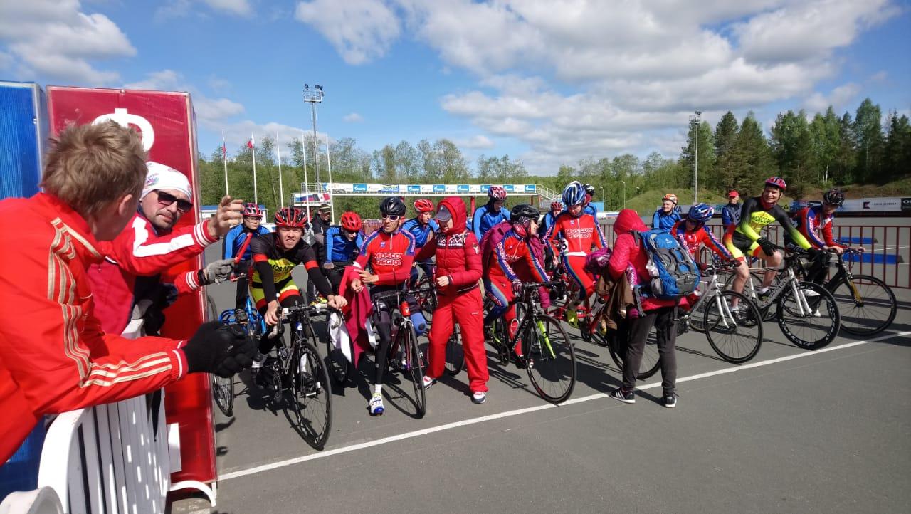 5 спортсменов стали абсолютными победителями чемпионата России по велоспорту на шоссе среди лиц с ПОДА в Ижевске