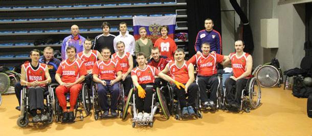 Сборная команда России по регби на колясках вылетела в Чехию для участия в чемпионате Европы в дивизионе Б