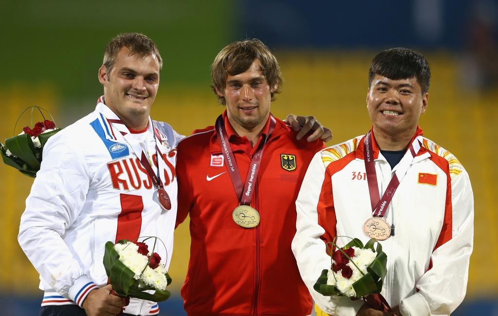Российские легкоатлеты завоевали 1 золотую, 1 серебряную и 3 бронзовые медали в стартовый день чемпионата мира IPC по легкой атлетике в Катаре