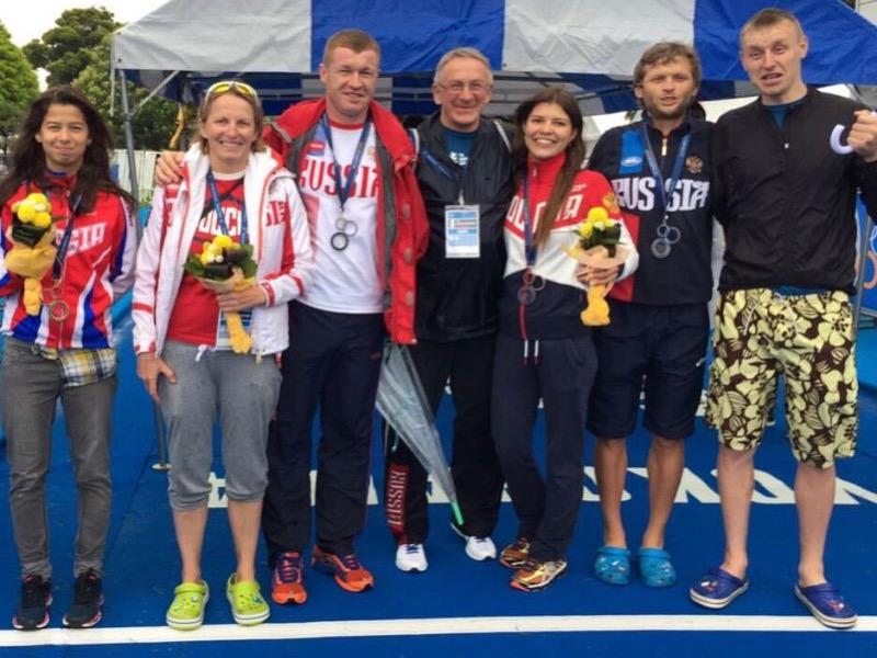 Российские паратриатлонисты завоевали 4 награды на престижном турнире в Японии