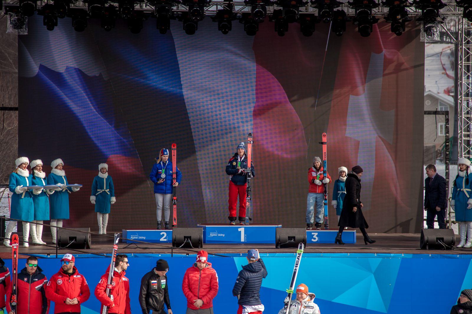 1 серебряную и 2 бронзовые медали завоевала сборная России в 1-й соревновательный день 4-го этапа Кубка мира по горнолыжному спорту МПК в Южно-Сахалинске