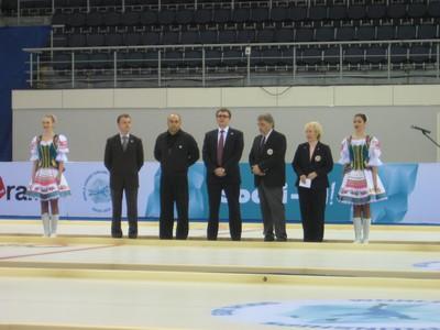 23 февраля 2013 года в столице XI зимних Паралимпийских игр 2014 года в г. Сочи в керлинговом центре «Ледяной Куб» завершился Чемпионат мира по керлингу на колясках.