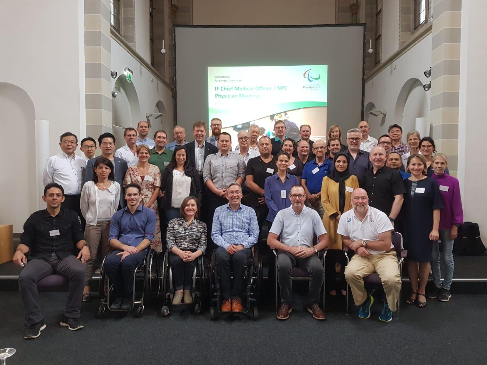 Г.З. Идрисова в г. Бонне (Германия) приняла участие в заседании медицинского комитета Международного паралимпийского комитета