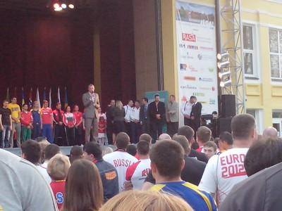 В г. Друскининкай (Литва) состоялась торжественная церемония открытия чемпионата Европы по армспорту среди здоровых спортсменов и спортсменов с ПОДА