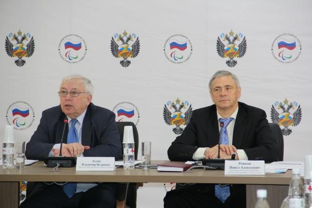 В.П. Лукин и П.А. Рожков дали интервью корреспонденту ИТАР-ТАСС об итогах проведения заседания Исполкома ПКР