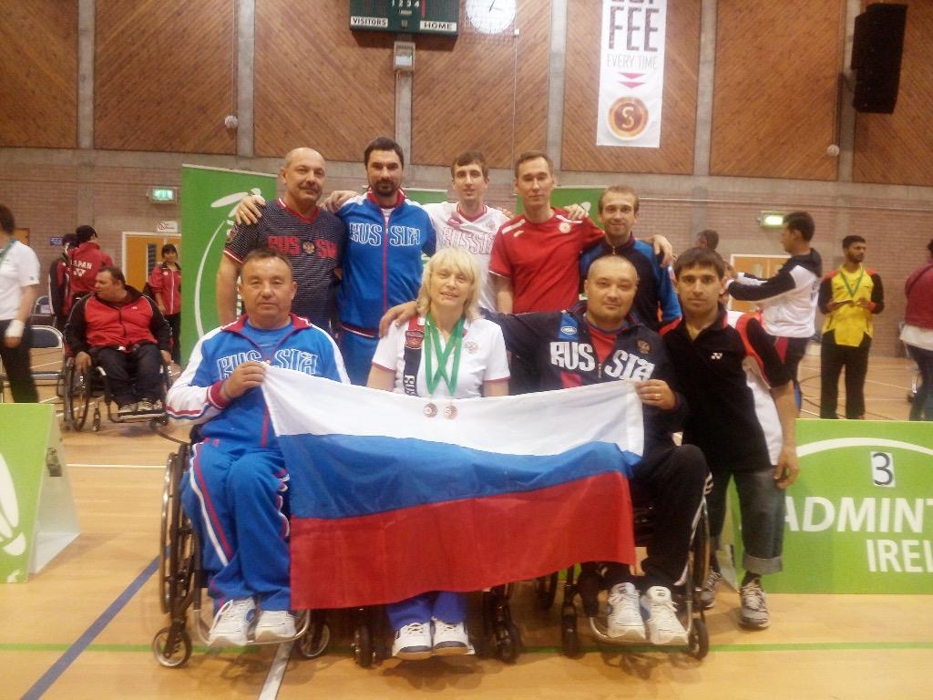 Россиянка Лилия Прокофьева завоевала две бронзовые медали на крупном турнире по пара-бадминтону в Северной Ирландии