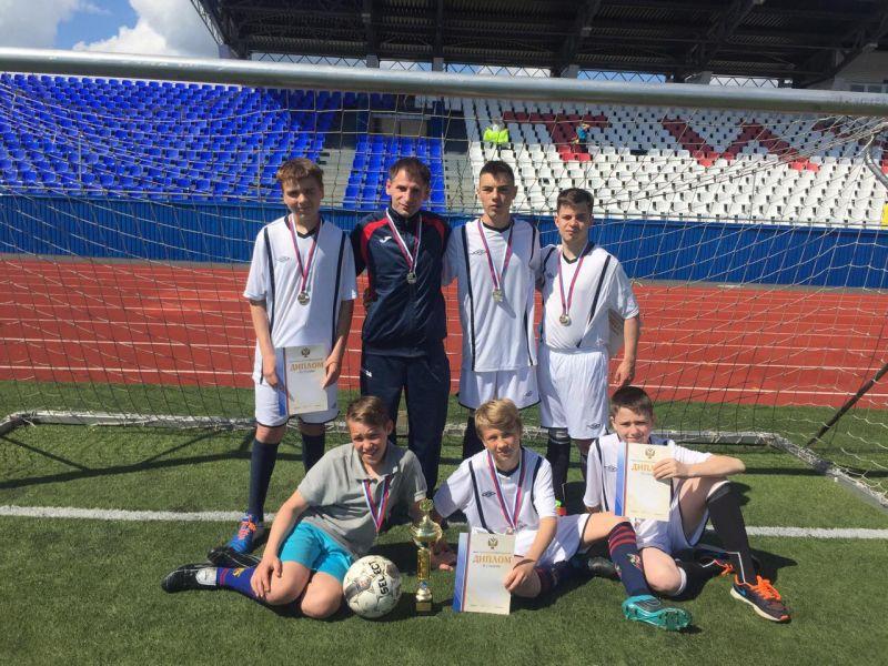 Команда «Олимпия» из г. Тихвина (Ленинградская область) стала победительницей первенства России по футболу лиц с ЦП
