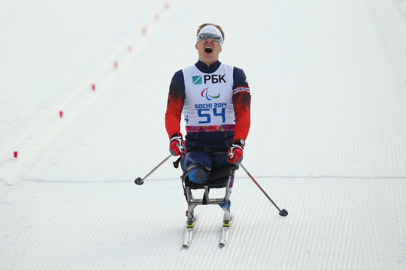 Послы паралимпийского спорта. Алексей Быченок