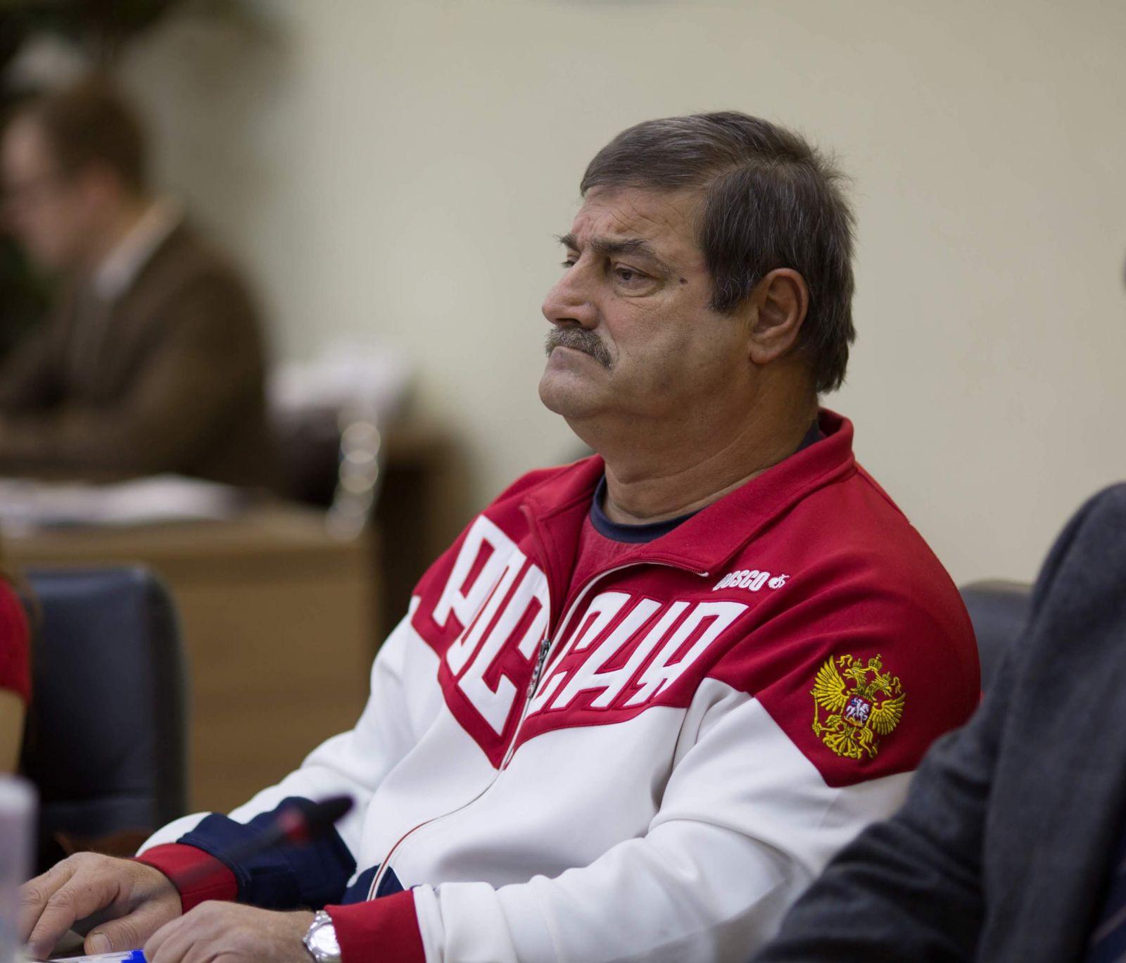 Старший тренер сборной команды России по пара-каноэ А.С. Маврофиди: В состав сборной на ЧМ вошли 11 человек, которые выступят во всех без исключения видах программы