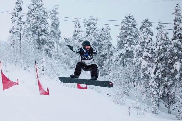Михаил Слинкин стал единственным представителем России на финальном этапе Кубка мира по парасноуборду в Швеции
