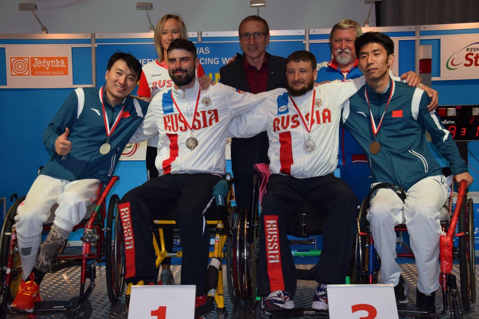 Сборная команда России по фехтованию на колясках заняла 2 общекомандное место на Кубке мира в Польше