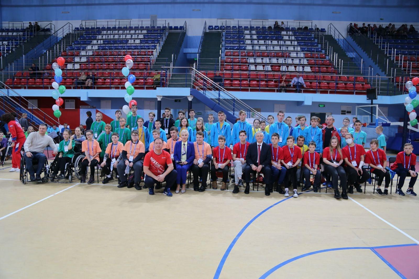 ПКР совместно с Белгородской Федерацией адаптивного спорта в г. Белгороде (Белгородская область) провели Паралимпийский урок