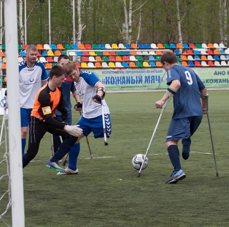 Команда из Республики Чечня «Ламан Аз» стала победителем первого круга чемпионата России по футболу ампутантов в Нижнем Новгороде