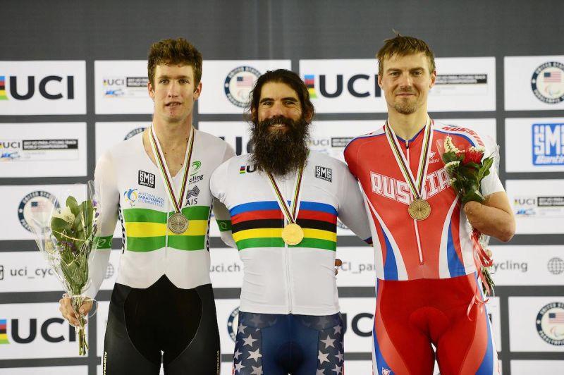Российский велогонщик Алексей Обыденнов завоевал бронзу на чемпионате мира в США