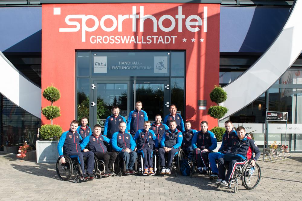 Сборная России по регби на колясках стала серебряным призером чемпионата Европы в группе С и вышла в группу В