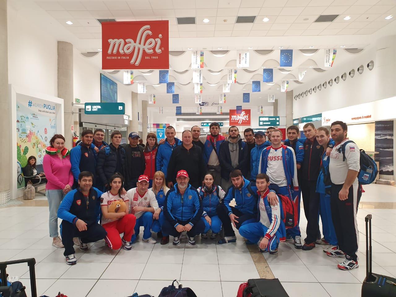 Сборная команда России по паратхэквондо примет участие в чемпионате Европы в Италии