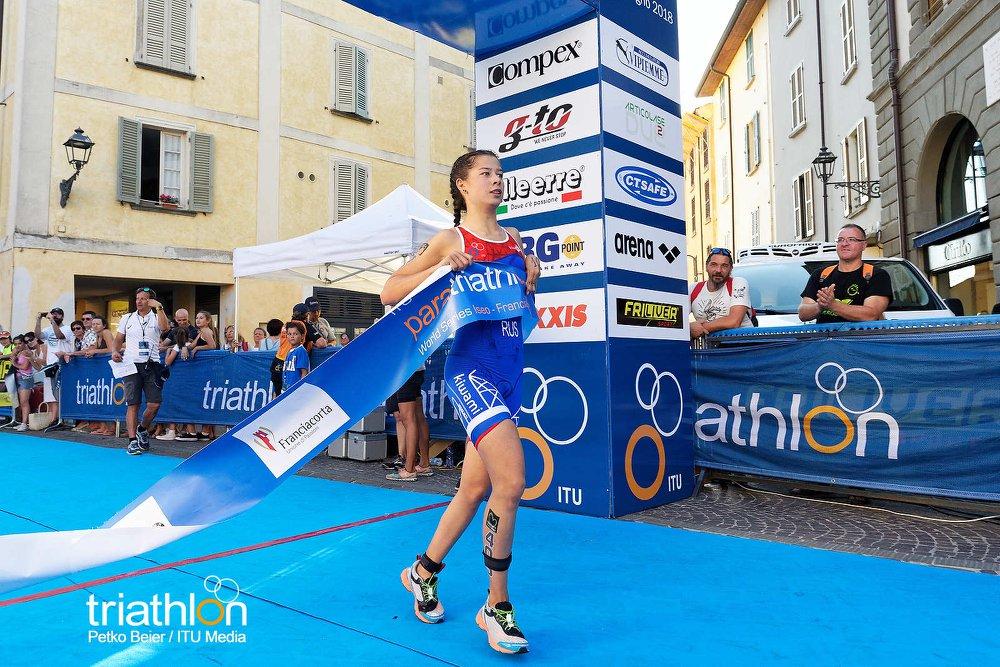 2 золотыми медалями завершился для российских паратриатлонистов II этап Мировой серии Iseo - Franciacorta ITU World Paratriathlon Series в Италии