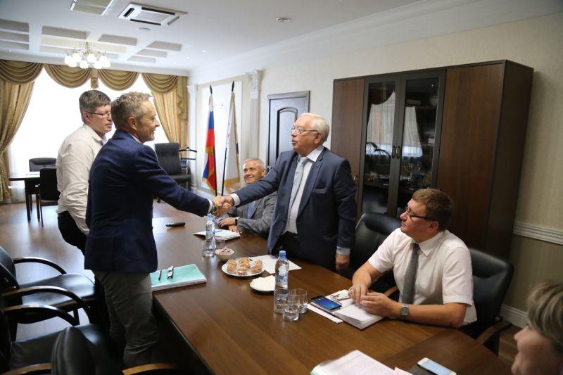 В офисе ПКР состоялась рабочая встреча В.П. Лукина, П.А. Рожкова и независимого международного эксперта, назначенного ВАДА г-на Питера-Ричарда Николсона