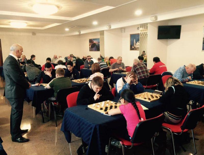 Определены победители чемпионата и первенства России по шашкам спорта слепых