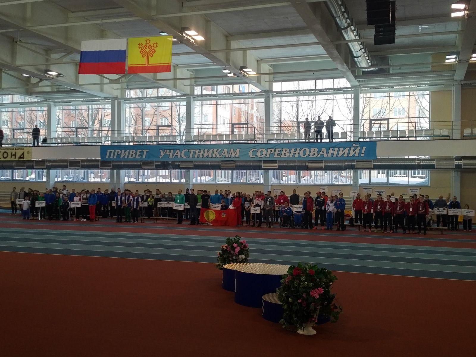 30 новых рекордов России было установлено на соревнованиях по легкой атлетике спорта лиц с ПОДА в Новочебоксарске