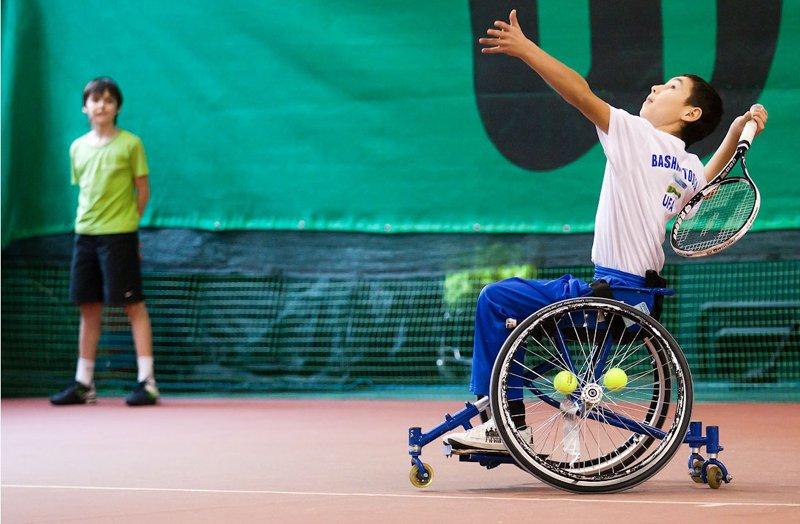 В г. Санкт-Петербурге проходит чемпионат России по теннису на колясках
