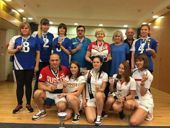 Сборные команды России по голболу спорта слепых завоевали золотую и бронзовую медали на престижном международном турнире в Израиле