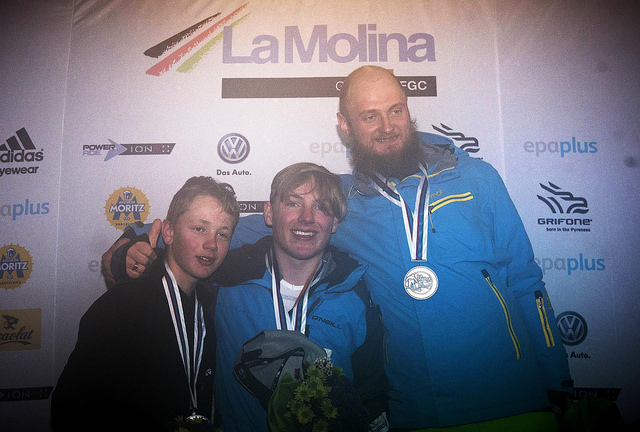 Серафим Пикалов завоевал бронзовую медаль на чемпионате мира по пара-сноуборду в Испании