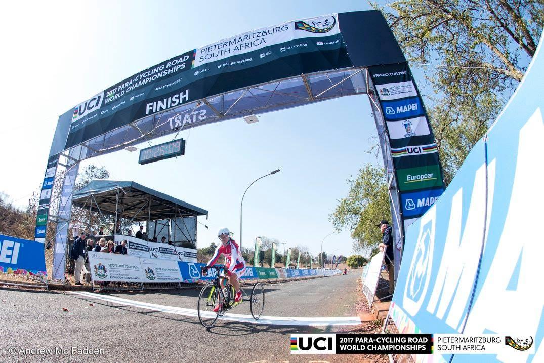 Российские спортсмены завоевали пять медалей на чемпионате мира по велоспорту ПОДА в ЮАР