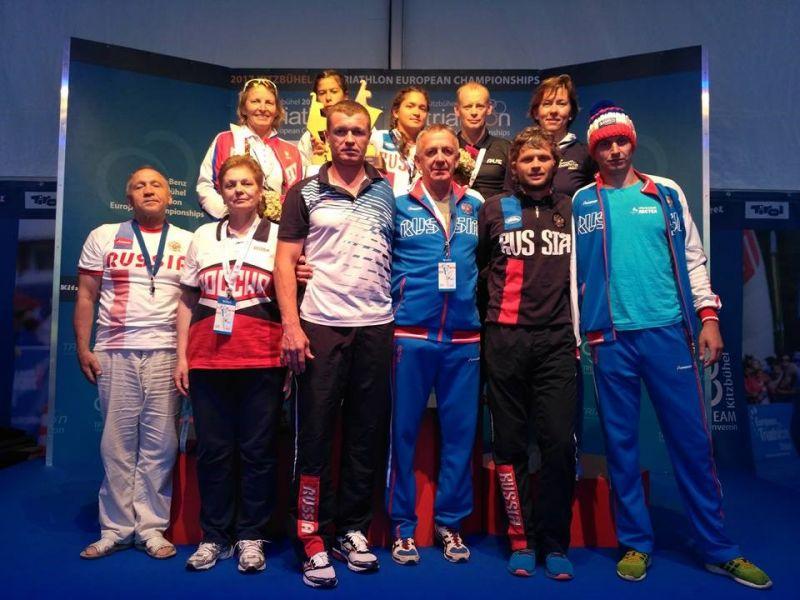 Российские паратриатлонисты завоевали золотую и бронзовую медали на чемпионате Европы в Австрии