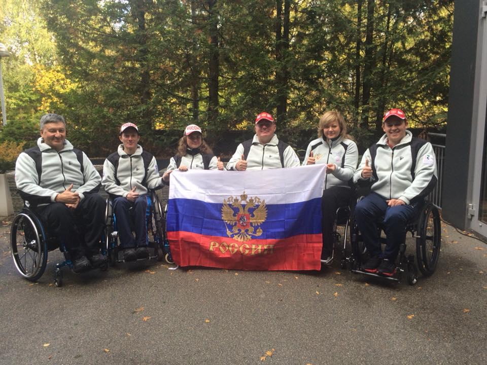 Сборная России по керлингу на колясках в Осло проведет серию встреч со сборной Норвегии