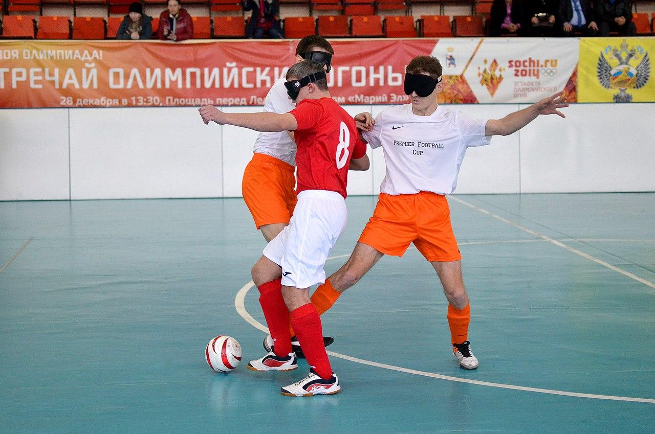 Шесть команд примут участие в первенстве России по футболу спорта слепых 5х5 В1 в Подмосковье