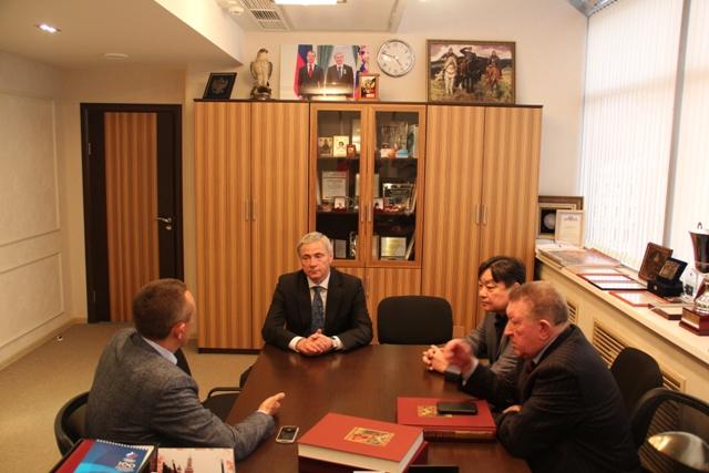 П.А. Рожков, Л.Н. Селезнев провели рабочую встречу по вопросу развития паратхэквондо в России