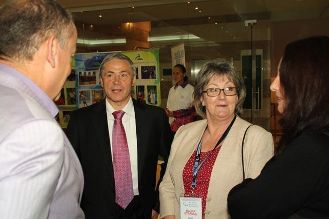 Рабочая встреча Павла Рожкова с Маурой Стрендж