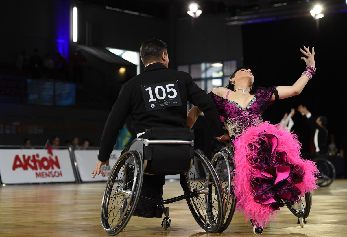 Чемпионат Европы по танцам на колясках запланирован на период с 17 по 21 декабря 2020 года в Италии