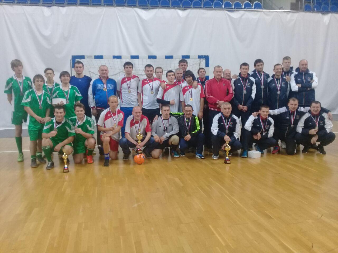 Сборная Тюменской области завоевала звание чемпиона России по футзалу спорта слепых