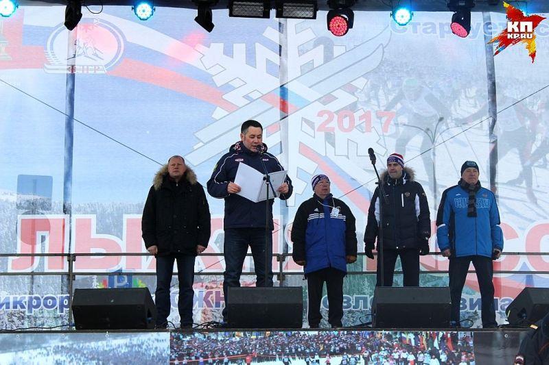 В.П. Лукин в Тверской области принял участие в церемонии награждения спортсменов-инвалидов - участников «Лыжни России-2017»