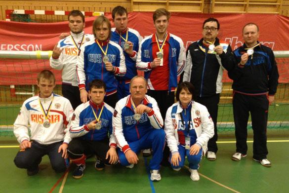 Мужская сборная России по голболу в Португалии поведет борьбу за награды чемпионата Европы в группе В