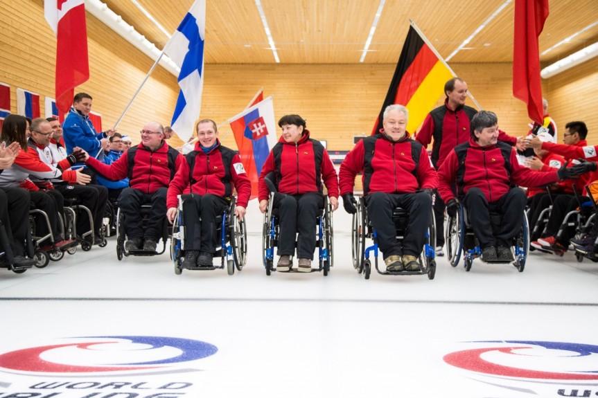 Сборная России вновь триумфально стала чемпионом мира по керлингу на колясках!